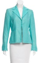 Akris Silk Blend Tweed Blazer
