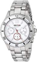Sector Women's R3273661545 Marine Analog Display Quartz Silver Watch