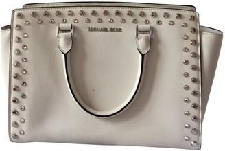 Michael Kors White Patent leather Handbags