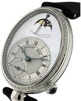 Breguet Reine de Naples Diamond Moonphase Mother of Pearl Dial Watch
