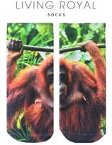 LIVING ROYAL Orangutang Ankle Socks
