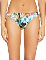 Morgan Women's Skort Floral Bikini Bottoms - -