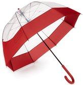 Hunter Moustache Transparent Bubble Umbrella