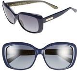 Jimmy Choo Women's 56Mm Sunglasses - Black