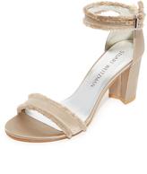 Stuart Weitzman Frayed Sandals