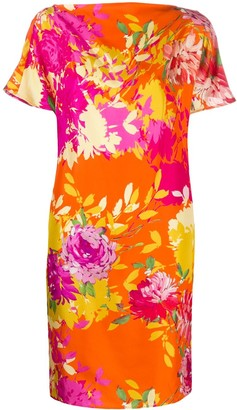 Gianluca Capannolo Floral Shift Dress