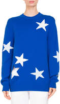 Givenchy Star Knit Crewneck Sweater