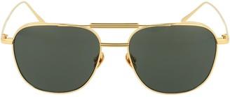 Linda Farrow Wilder Aviator Sunglasses
