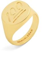 BaubleBar One Hundred Points Ring