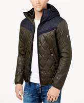 G Star Men's Colorblocked Quilted Jacket