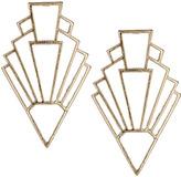 Topshop Triangle Drop Earrings