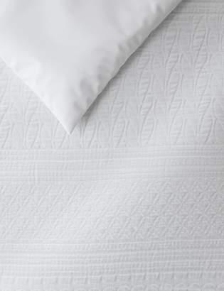 Marks and Spencer Multi Textured Matelasse Bedding Set