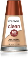 Cover Girl Clean Liquid Makeup Buff Beige Warm 125 , 30ml