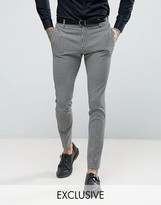 Religion Super Skinny Suit Trousers In Gingham