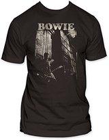 Impact Merchandising Men's David Bowie Guitar T-Shirt