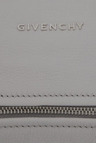 Givenchy Mini Pandora bag in gray textured-leather