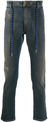 Diesel Belted Slim High-Rise Jeans