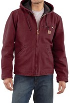 Carhartt Sandstone Sierra Jacket - Sherpa Pile Lining (For Big Men)