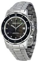 MOMO Design Black Mother of Pearl Stainless Steel Ladies Watch
