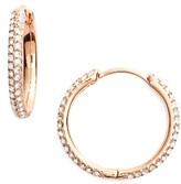 Nadri Women's Small Pave Hoop Earrings (Nordstrom Exclusive)