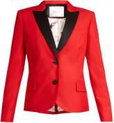 RACIL Mick single-breasted wool-blend jacket