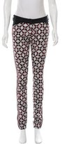 Balenciaga Printed Mid-Rise Skinny Jeans w/ Tags