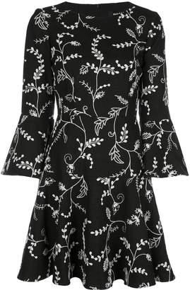 Paule Ka floral print mini dress
