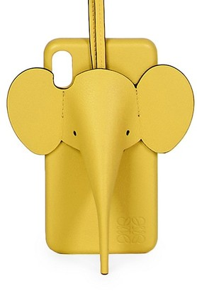Loewe Elephant Leather iPhone X/XS Cover
