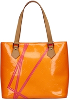 Louis Vuitton Houston patent leather tote