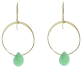 Melissa Joy Manning Small Chrysoprase Single Drop Earrings