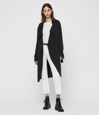 AllSaints Ria Trench Coat