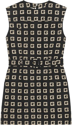Gucci Square G printed dress