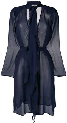 Max Mara sheer belted jacket