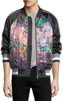 Eleven Paris Banksy Pray Bomber Jacket