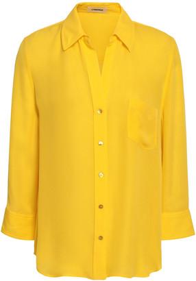 L'Agence Silk Crepe De Chine Shirt