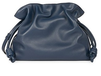 Loewe Flamenco Knot Leather Clutch