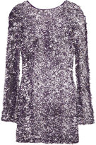 Walice Backless Sequin Mini Dress