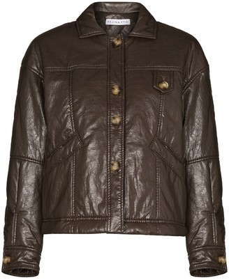 REJINA PYO Pippa buttoned jacket