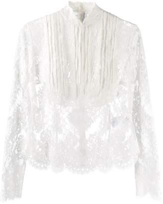 Ermanno Scervino victorian lace blouse