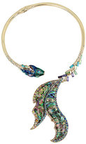 Betsey Johnson Glitter Reef Fish Collar