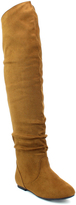 Refresh Camel Kayson Over-the-Knee Boot