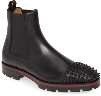 Christian Louboutin Melon Spike Chelsea Boot