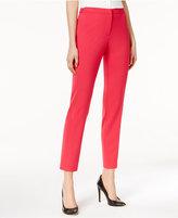 Calvin Klein Cropped Slim-Leg Pants