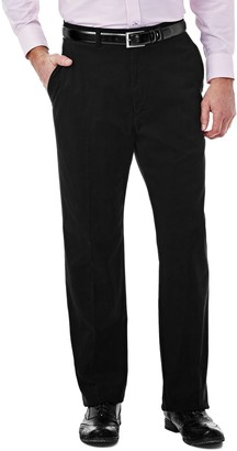 Haggar Men's Expandomatic Stretch Classic-Fit Casual Pants