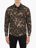 Valentino Camouflage Reversible Nylon Jacket