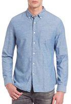 AG Jeans Grady Dot-Print Button-Down Shirt