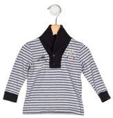 Ikks Boys' Collared Striped Shirt
