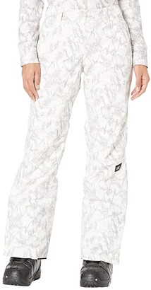 O'Neill Glamour Pants (White All Over Print/Brown) Women's Casual Pants