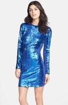 Dress the Population 'Ryan' Sequin Body-Con Dress