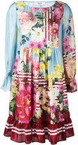 Blugirl floral print flared dress - women - Silk/Polyester - 38